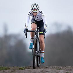 12-01-2020: Wielrennen: NK Veldrijden: Rucphen<br />Inge van der Heijden