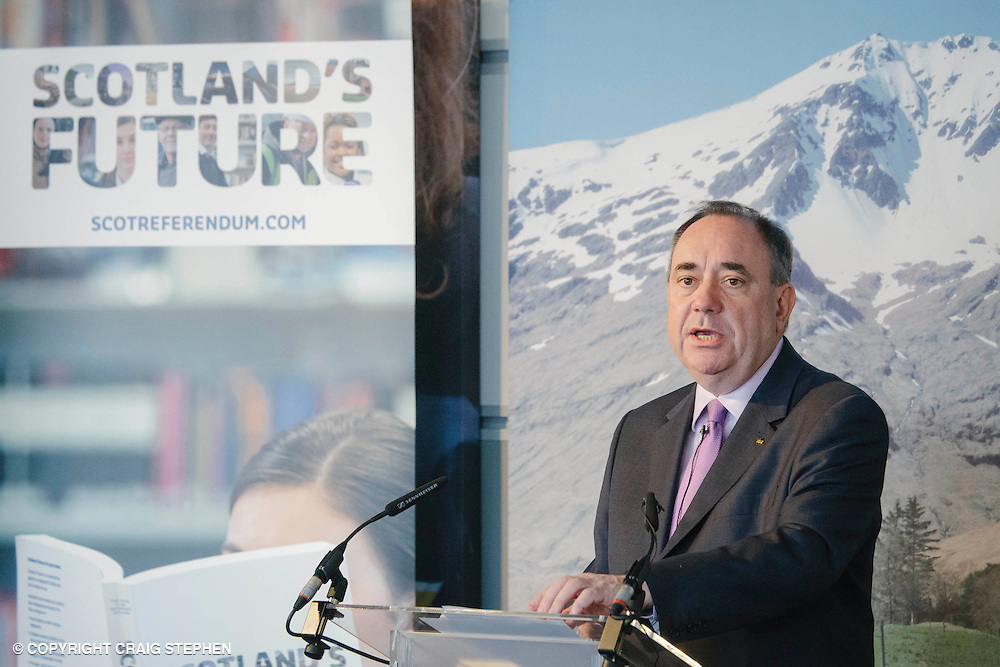 Royal Highland Show, 2014. Alex Salmond at the Royal Highland Show. PAYMENT TO CRAIG STEPHEN 07905 483532