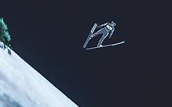 10.02.2019, Salpausselkae Hill, Lahti, FIN, FIS Weltcup Ski Sprung, Herren, im Bild Clemens Aigner (AUT) // Clemens Aigner of Austria during the men's FIS Ski Jumping World Cup at the Salpausselkae Hill in Lahti, Finland on 2019/02/10. EXPA Pictures © 2019, PhotoCredit: EXPA/ JFK