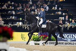 Minderhoud Hans Peter, NED, Glock's Dream Boy<br /> Vlaanderens Kerstjumping - Memorial Eric Wauters - Mechelen 2018<br /> © Hippo Foto - Dirk Caremans<br /> 29/12/2018