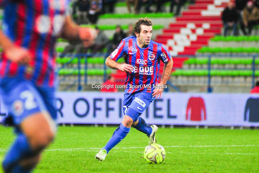 Jose Saez - 20.12.2014 - Caen / Bastia - 19eme journee de Ligue 1 <br /> Photo : Philippe Le Brech / Icon Sport