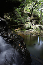 Turkey Foot Falls in the Bankhead National Forest, Sunday, July 17, 2011 at Sipsey Wilderness in Winston County.