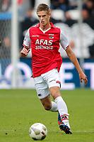 ALKMAAR - 16-09-2012 - voetbal Eredivisie - AZ - Roda JC, AFAS Stadion, 4-0, debuut wedstrijd AZ speler Markus Henriksen.