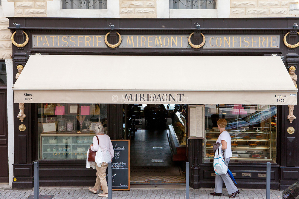 Miremont pastry shop in Biarritz, France.