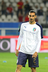 October 6, 2017 - Turin, Piedmont, Italy - Davide Zappacosta (Italy) before the FIFA World Cup European Qualifying match between Italy and FYR Macedonia at Olympic Grande Torino Stadium on 6 October, 2017 in Turin, Italy. (Credit Image: © Massimiliano Ferraro/NurPhoto via ZUMA Press)