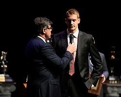 Anthony Mantha of the Val-d'Or Foreurs was named the Sportsnet Player of the Year at the 2013-14 Canadian Hockey League Awards Ceremony at the Grand Theatre in London, ON on Saturday May 24, 2014. Photo by Aaron Bell/CHL Images