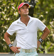 Swedish golfer Jesper Parnevik is seen during the first round of the 2005 PGA Championship at Baltusrol Golf Club in Springfield, New Jersey, Thursday 11 August 2005. Parnevik emerged as one of the early leaders in the competition shooting, 4 strokes under par after 11 holes..