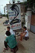 Le Mat (Snake Village). Snake restaurant.