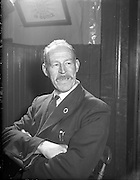 Ballinasloe Tinker Housing Story Mr Charlie Soden, Member of Urban Council.28/01/1957