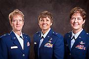 L to R BG Jane C. Rohr, BG Patricia A. Rose, BG Karen A. Rizzuti.
