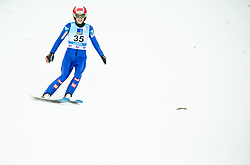 Eva Pinkelnig of Austria during 2nd Round at Day 1 of World Cup Ski Jumping Ladies Ljubno 2019, on February 8, 2019 in Ljubno ob Savinji, Slovenia. Photo by Matic Ritonja / Sportida