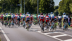 Back of the peloton at Warnsveld with 80 km to go, stage 3 from Nijmegen to Arnhem running 190 km of the 99th Giro d'Italia (UCI WorldTour), The Netherlands, 8 May 2016. Photo by Pim Nijland / PelotonPhotos.com | All photos usage must carry mandatory copyright credit (Peloton Photos | Pim Nijland)