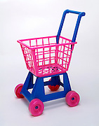 toy plastic shopping cart