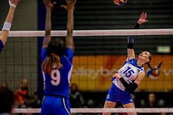 01-04-2017 NED:  CEV U18 Europees Kampioenschap vrouwen dag 1, Arnhem<br /> Rusland - Italie 0-3 / Valeriya Shevchuk #15