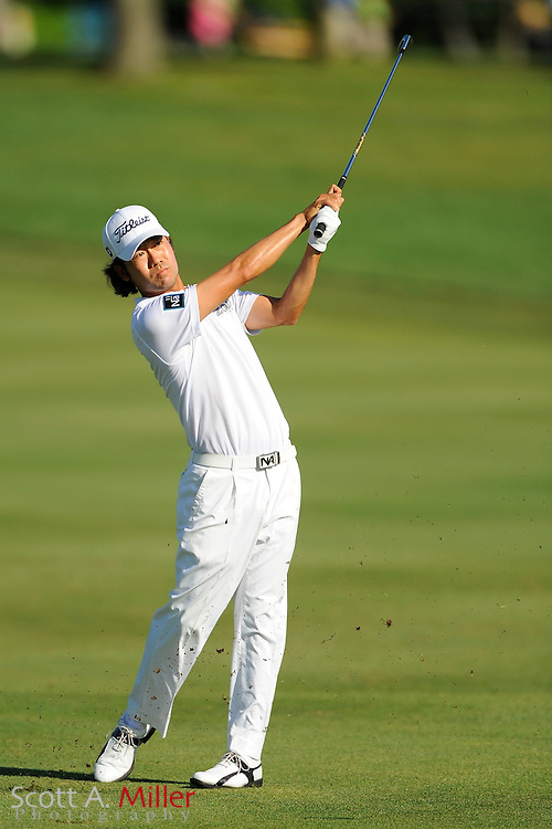 Kevin Na during the second round of the Arnold Palmer Invitational at the Bay Hill Club and Lodge on March 23, 2012 in Orlando, Fla. ..©2012 Scott A. Miller.
