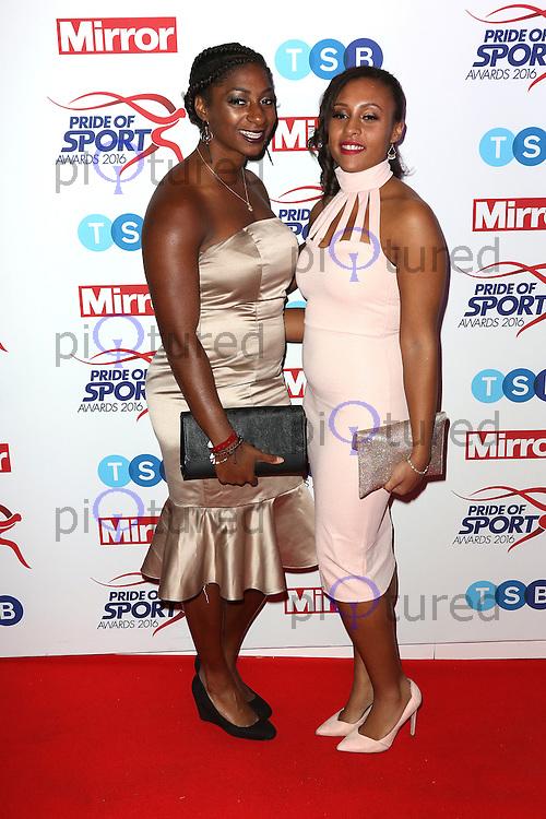 Kadeena Cox, Pride of Sport Awards, Grosvenor House Hotel, London UK, 07 December 2016, Photo by Richard Goldschmidt