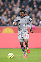 Michy Batshuayi - 22.03.2015 - Lens / Marseille - 30eme journee de Ligue 1 <br /> Photo : Andre Ferreira / Icon Sport