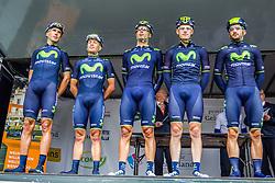 Movistar Team, Arnhem Veenendaal Classic, UCI 1.1, Arnhem, The Netherlands, 22 August 2014, Photo by Thomas van Bracht