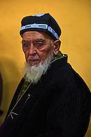 Ouzbekistan, region de Fergana, Kokand, homme ouzbek // Uzbekistan, Fergana region, Kokand, Uzbek man