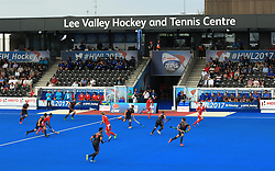 General view of Netherlands against China during the Men's World Hockey League match at Lee Valley Hockey Centre, London.