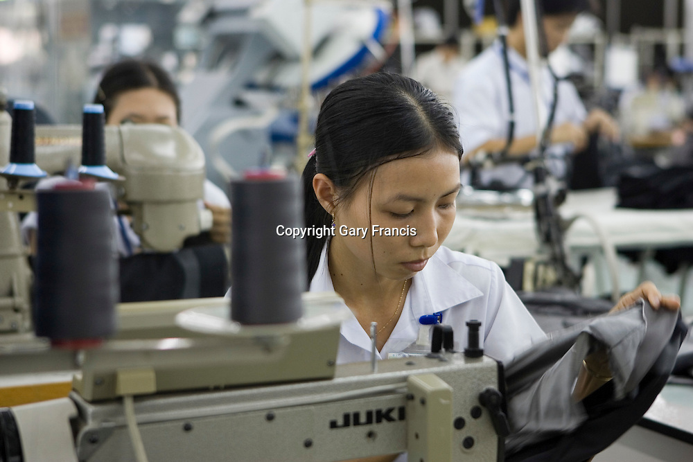 Garment Factory in Ho Chi Minh City, Vietnam