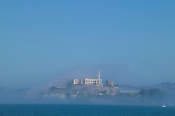 Alcatraz Island in the Mist, San Francisco