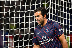 October 7, 2018 - Paris, ile de france, France - Gianluigi Buffon during the french Ligue 1 match between Paris Saint-Germain (PSG) and Olympique Lyonnais (OL, Lyon) at Parc des Princes stadium on October 7, 2018 in Paris, France. (Credit Image: © Julien Mattia/NurPhoto/ZUMA Press)