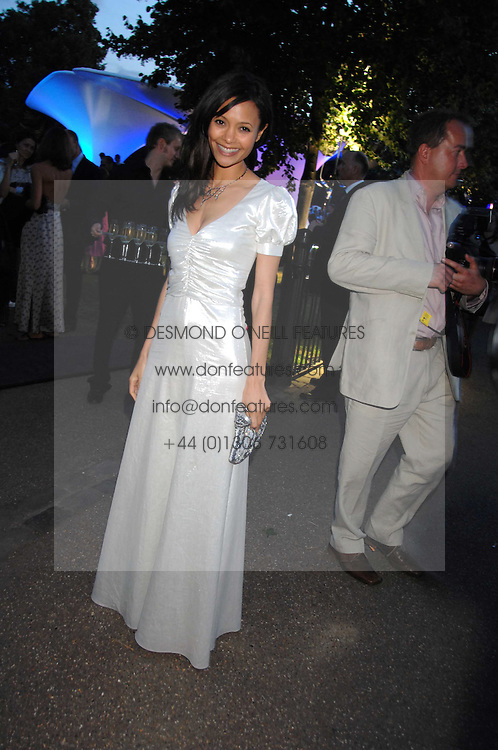 THANDIE NEWTON at the annual Serpentine Gallery Summer Party in association with Swarovski held at the gallery, Kensington Gardens, London on 11th July 2007.<br /><br />NON EXCLUSIVE - WORLD RIGHTS