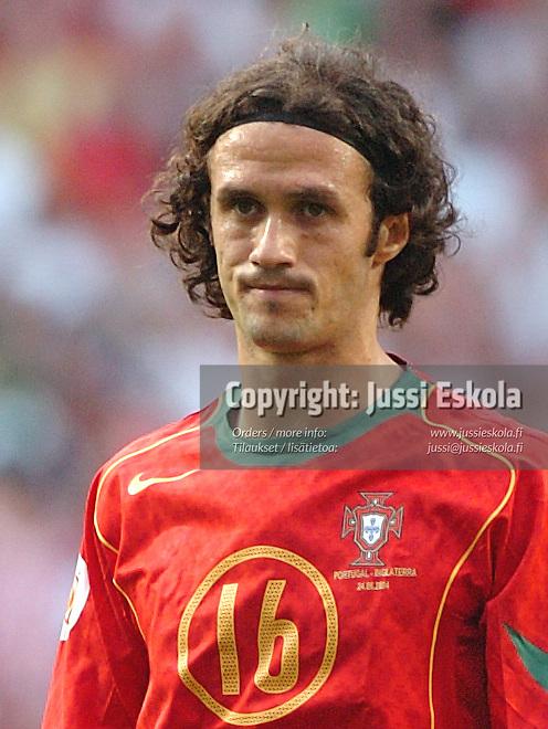 Ricardo Carvalho 24.6.2004.&amp;#xA;Euro 2004.&amp;#xA;Photo: Jussi Eskola<br />
