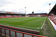 Griffin Park ahead of the EFL Sky Bet Championship match between Brentford and Queens Park Rangers at Griffin Park, London, England on 2 March 2019.