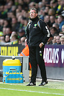 Picture by Paul Chesterton/Focus Images Ltd.  07904 640267.26/11/11.Norwich Manager Paul Lambert during the Barclays Premier League match at Carrow Road Stadium, Norwich.