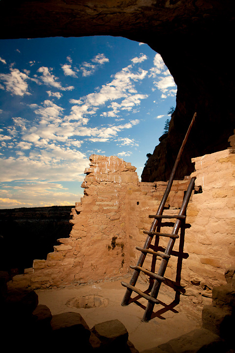 Long View House, Mesa Verde National Park, images created while serving as Artist-In-Residence for Mesa Verde National Park.