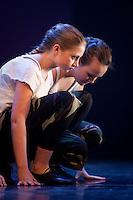 Bjargey að dansa með hópnum sínum á Nemandasýningu JSB 24. mars 2009.