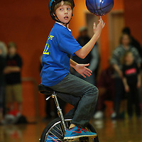 130114 Gwin Elementary Unicyclers