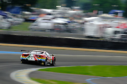 June 15, 2018 - Le Mans, Sarthe, France - AF Corse FERRARI 488 GTE EVO Driver TONI VILANDER (FIN) in action during the 86th edition of the 24 hours of Le Mans 2nd round of the FIA World Endurance Championship at the Sarthe circuit at Le Mans - France. (Credit Image: © Pierre Stevenin via ZUMA Wire)