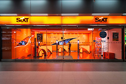 Sixt car rental shop in Berlin, Germany