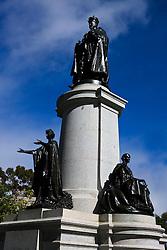 Statue of King Edward VII, North Tce, Adelaide, South Australia, Australia
