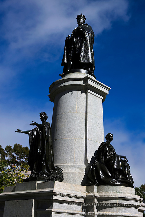 Statue of King Edward VII, North Tce, Adelaide, South Australia, Australia