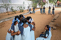 ©INDIA 2005. School in Ennamputhanthorai..Picture featured in book KIDS photos by Markus Marcetic, published 2007.