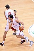 DESCRIZIONE : Trieste Torneo internazionale Serbia Canada<br /> GIOCATORE : Nemanja Bjelica Milos Teodosic<br /> CATEGORIA : Palleggio Blocco<br /> SQUADRA : Serbia Serbia<br /> EVENTO : Torneo Internazionale Trieste<br /> GARA : Serbia Canada<br /> DATA : 04/08/2014<br /> SPORT : Pallacanestro<br /> AUTORE : Agenzia Ciamillo-Castoria/Max.Ceretti<br /> Galleria : FIP Nazionali 2014<br /> Fotonotizia : Trieste Torneo internazionale Serbia Canada