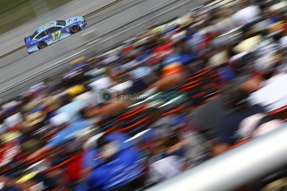 April 29, 2018 - Talladega, Alabama, United States of America - Ricky Stenhouse, Jr (17) brings his race car down the front stretch during the GEICO 500 at Talladega Superspeedway in Talladega, Alabama. (Credit Image: © Chris Owens Asp Inc/ASP via ZUMA Wire)