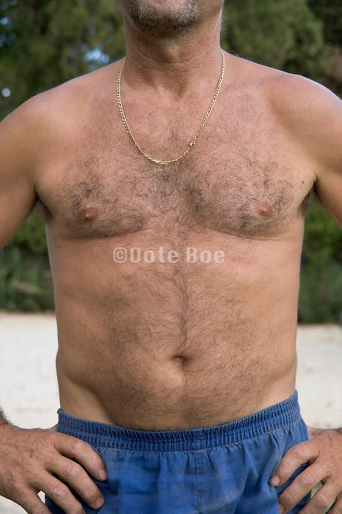 torso of a man