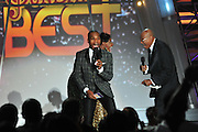 Bet Sunday Best show taping of final two contestants LeAndria Johnson and Elder Goldwire McLendon April 24,2010 in New Orleans Louisiana. Judges and host  kirk franklin.included in shots kirk franklin,mary mary, bet LeAndria Johnson, Elder Goldwire McLendon,sunday best,new orleans,kim burrell,LeAndria,hezekiah walker,tina, donnie,yolanda Jessica reedy donald lawrenceLatice Crawford, Y'Anna Crawley,   Ellis Marsalis with Kirk Franklin presenting a check for $30,000 to the Muscians Village in New Orleans a Non profit established after Hurricane Katrina to help rebuild the lower 9th ward and all the musicians living there nad to help teach music to the children ther.e©Suzi Altman