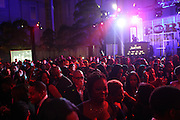 January 21, 2013-Washington, DC- Guests attend the BET Network Inaugural Ball held at the Smithsonian National Art Museum and National Portrait Gallery on January 21, 2013 in Washinton, D.C. The 57th Presidential Inauguration celebrates the beginning of the second term of President Barack H. Obama. (Terrence Jennings)