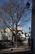 Paris  France , Montmartre hill . Sacre Coeur