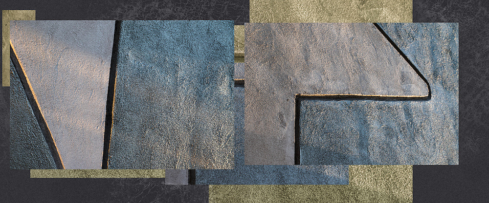 A creative abstract composition derived from view of a cement wall.<br /> <br /> For IMAGE LICENSING just click on the &quot;add to cart&quot; button above.<br /> <br /> Fine Art archival paper prints for this image as well as canvas, metal and acrylic prints available here: