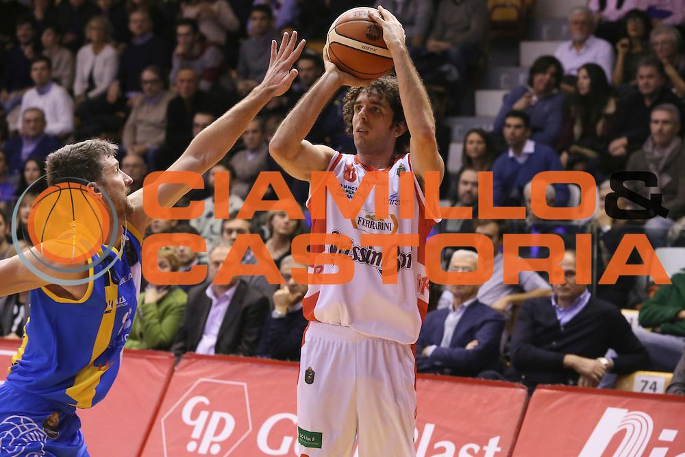 Amedeo Della Valle<br /> Grissin Bon Pallacanestro Reggio Emilia - Betaland Capo d' Orlando - <br /> Lega Basket Serie A 2016/2017<br /> Reggio Emilia, 05/12/2016<br /> Foto Ciamillo-Castoria