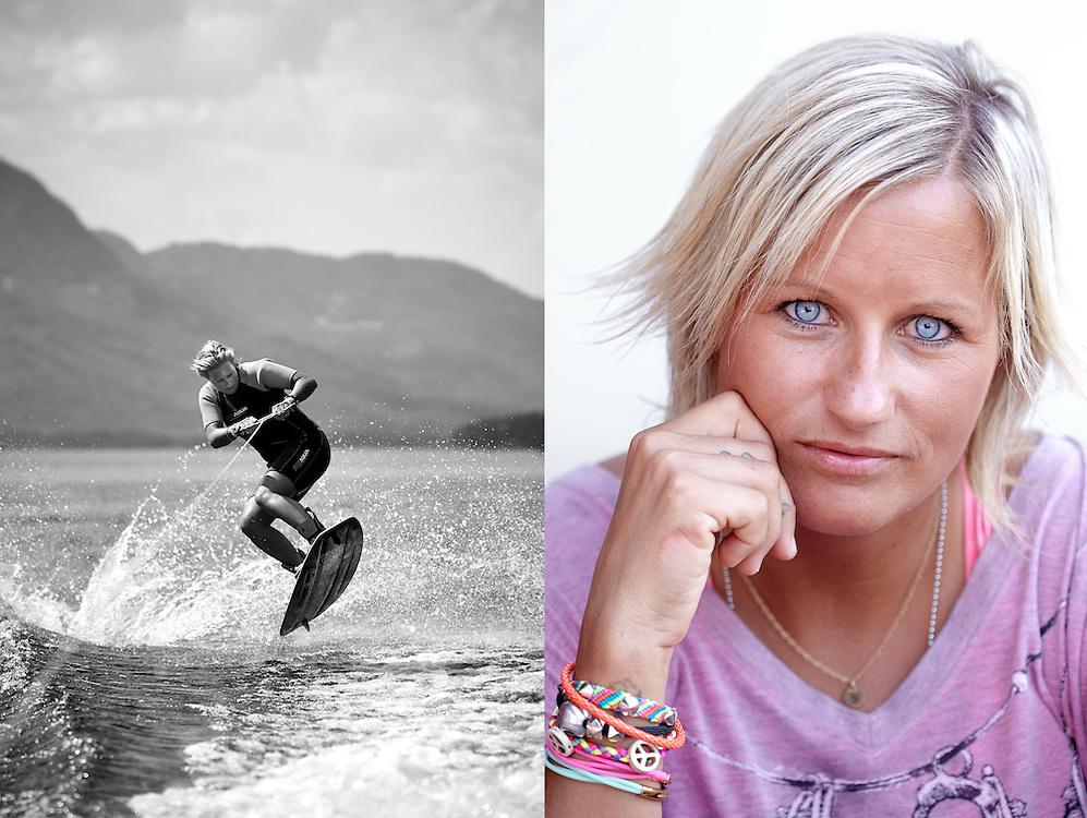 Vr&aring;dal, Telemark: 20140710<br /> Vibeke Skofterud portrettintervju.  P&aring; familiehytta i Vr&aring;dal. <br /> Foto: Paul Paiewonsky / Dagbladet