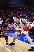 Tall Blacks Kirk Penney in action. New Zealand v China - Mens Basketball at the 2000 Olympics, The Dome, Sydney, Australia. 19 September 2000. Photo; Photosport.co.nz
