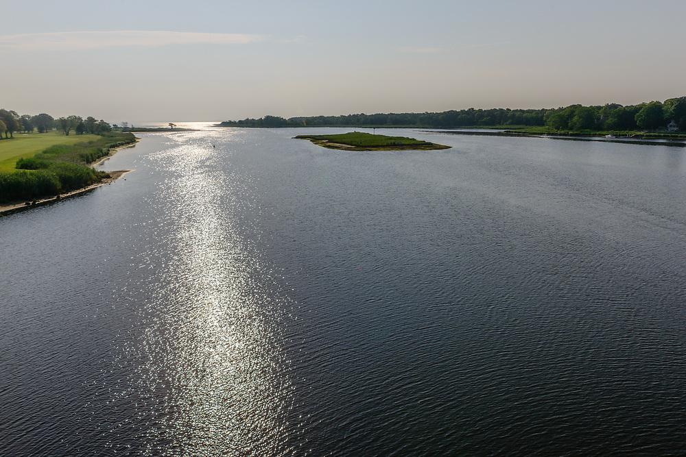 Peconic River and Flanders Bay, Riverhead, Flanders,  Long Island, New York